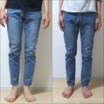 ゾゾスーツで注文のZOZOTシャツ&デニムの着用評判・返品・交換方法レビュー!
