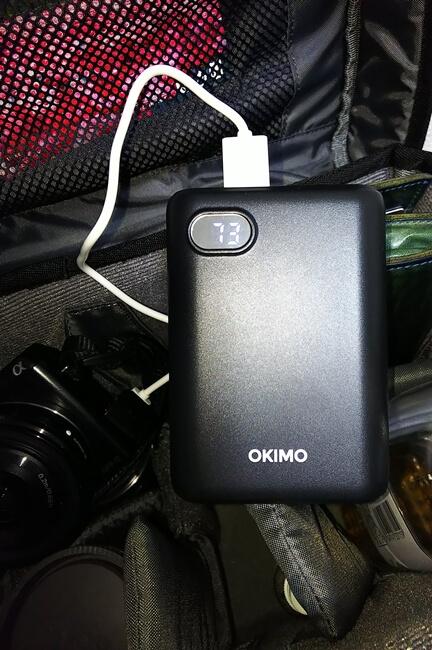 モバイルバッテリー+カメラ